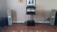 Rotel, B@W, Cambridge Audio, Project, Mirage,Wadia Stereo System