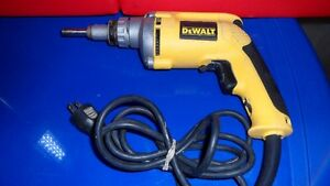 Dewalt DW272 Drywall Screw Driver $80 .