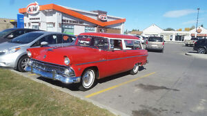 1955 Ford Ranch Wagon 2 door Customline Overdrive