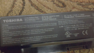 Toshiba laptop l645d charger and battery