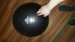 brand new 55cm black mountain anti dirt finish exercise ball