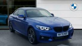 image for 2020 BMW 2 Series 220d M Sport 2dr [Nav] Diesel Coupe Coupe Diesel Manual