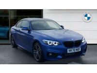 2020 BMW 2 Series 220d M Sport 2dr [Nav] Diesel Coupe Coupe Diesel Manual