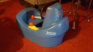 Vintage Little Tikes Tuggy the Tugboat Child Size Ride On