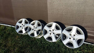 Honda wheels from 2004 Civic