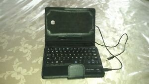 Bluetooth Keyboard Leather Case for Samsung Galaxy Tab 3 7 Inch