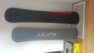 Snowboards/ no bindings/ two sizes.  $100 each. OBO