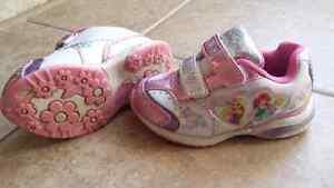 Size 6 light up princess shoes
