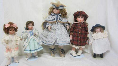 Lot Of 5 Dolls Jackie Chimpky Angel Doll