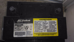 AC Delco Battery, top post