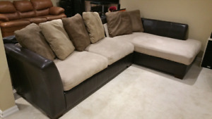 Sofa Sectional, living room, basement