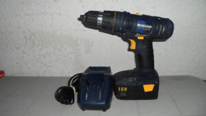 Mastercraft Cordless 18 Volt Drill and Charger $30