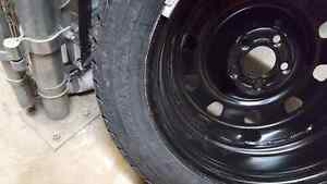 4 Brand new goodyear winter tires + rims 215/55 R17!!!