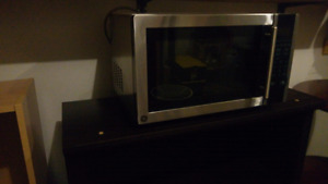 GE Stainless Microwave