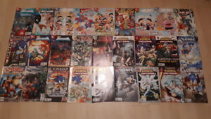 OVER 140  COMIC BOOKS , ALL IN SOLID CONDITION.