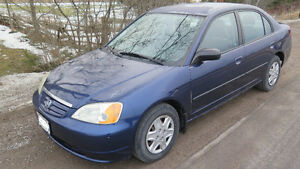 2003 Honda Civic Sedan-5 speed