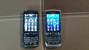 Blackberry Torch Touch Screen with Keyboard phones