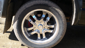 20 inch wheels with tires