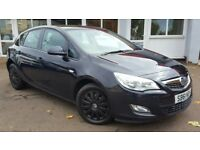 Vauxhall Astra 1.6I 16V VVT EXCLUSIV 115PS (black) 2012