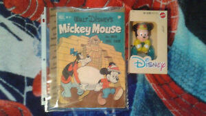 Mickey Mouse Comic and Teether