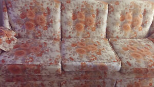 Floral couch and set