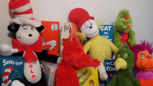 ▀▄▀Dr Seuss Kohls Cares Character Plush Toys & Books