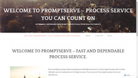Process service of all legal documents