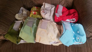 Washable baby diapers