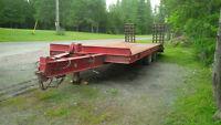 25 ton float trailer