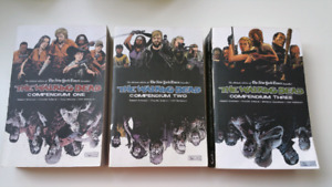 The Walking Dead Compendiums 1, 2 & 3