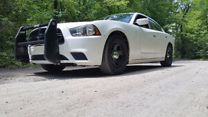 2012 Dodge Charger Police - Clean No Holes In Roof Patrol Ready
