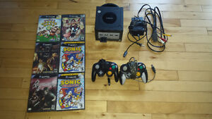 game cube 2 manette memory + 6 jeux