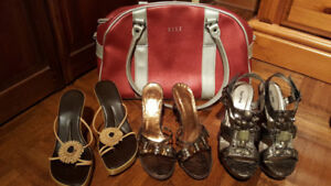 Ladies dressy sandals size 5.5 - 6.0