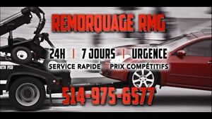 Towing remorquage transport de tout genre