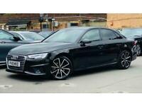 2019 Audi A4 2.0 TFSI 35 Black Edition S Tronic (s/s) 4dr Saloon Petrol Automati