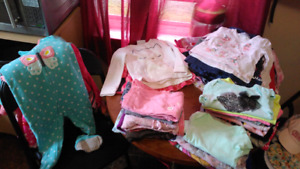 TONNE of little girls clothes and blankets