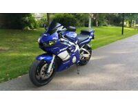 Yamaha R6 low mileage full service history 11 month MOT
