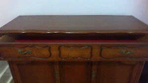 Solid Cherry Wood Dinning set with Buffet