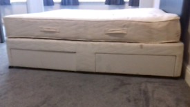 Super king size bed base ( no mattress ) FREE DELIVERY