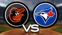 Toronto Blue Jays Tickets vs Baltimore Orioles September 4, 5, 6