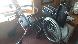 Drive Wheelchair with removable wheels