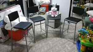High stools from IKEA4 units high stools for kitchen island