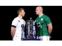 England v Ireland Six Nations Ticket- Twickenham - Saturday 17th March