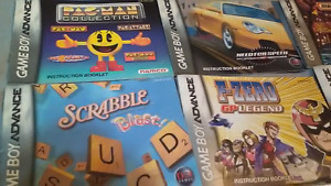 Nintendo DS Cases+Instruction Manuals, GBA Instruction Manuals