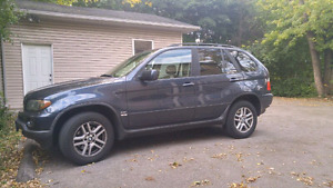 2004 BMW x5 Premium Leather