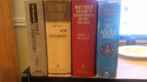 Four Bible Commentaries