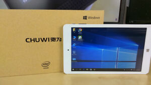 "Tablet 8"" Windows 10/ Android 7.0 Chuwi Hi8Pro 32Gb memory"