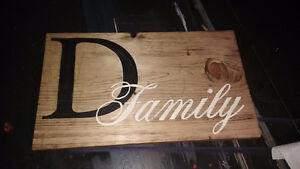 HAND PAINTED RUSTIC WOOD SIGNS Peterborough Peterborough Area image 6