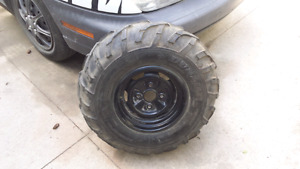 Atv tires with rims
