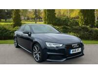 Audi A4 2.0 TDI Black Edition S Tronic Privacy glass Apple Auto Saloon Diesel Au